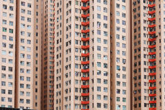 Costruzione domestica di Hong Kong Immagini Stock Libere da Diritti