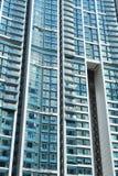 Costruzione domestica di Hong Kong Fotografie Stock Libere da Diritti