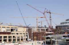 Costruzione in Doubai Fotografia Stock