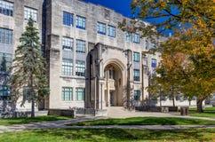 Costruzione e Jordan Hall di scienza dell'istituto universitario Immagini Stock Libere da Diritti