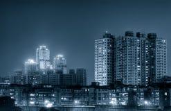 Costruzione ed appartamento commerciali Fotografia Stock Libera da Diritti