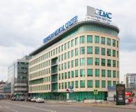 Costruzione europea del centro medico Fotografia Stock
