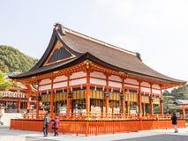 Costruzione in Fushimi Inari Immagini Stock Libere da Diritti