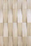 Costruzione geometrica di legno Fotografie Stock Libere da Diritti