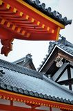 Costruzione giapponese antica Immagine Stock Libera da Diritti