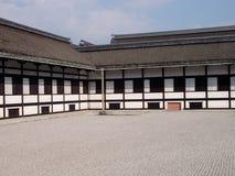 Costruzione imperiale del palazzo di Kyoto Fotografia Stock Libera da Diritti