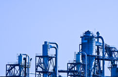 Costruzione industriale Fotografie Stock Libere da Diritti