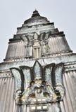 Costruzione inferiore del tempio Fotografie Stock