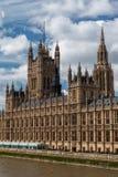 Costruzione Inghilterra del Parlamento Fotografia Stock