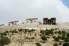 Costruzione israeliana di stabilimento Fotografia Stock Libera da Diritti