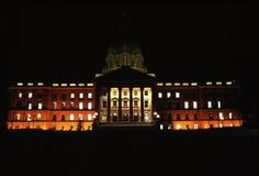Costruzione legislativa dell'Alberta fotografie stock