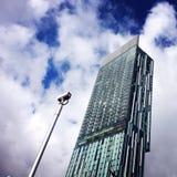 Costruzione a Manchester fotografia stock