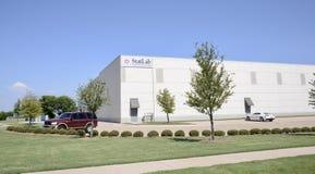 Costruzione medica di StatLab, Lewisville, il Texas immagine stock