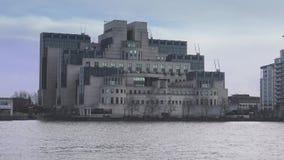 Costruzione MI6 il Tamigi servizio segreto MI-6 al 15 gennaio 2016