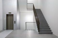 Costruzione minimalista di architettura moderna Immagine Stock Libera da Diritti