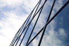 Costruzione moderna con le finestre Immagini Stock Libere da Diritti
