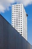 Costruzione moderna con le finestre rotonde Fotografia Stock