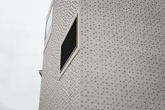 Costruzione moderna contemporanea del cemento del museo di Vorarlberg fotografie stock