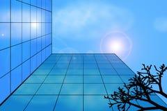 Costruzione moderna contro il cielo Fotografie Stock Libere da Diritti