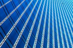 Costruzione moderna del grattacielo dell'ufficio di affari immagine stock