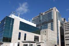 Costruzione moderna dell'ospedale fotografie stock libere da diritti