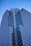 Costruzione moderna della Banca Fotografie Stock