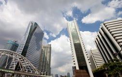 Costruzione moderna di affari a Bangkok Fotografia Stock Libera da Diritti