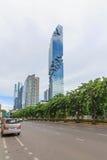 Costruzione moderna di stile della torre di Mahanakorn Immagini Stock