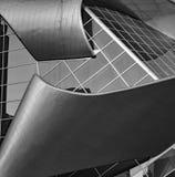 Costruzione moderna di vetro e del metallo Immagini Stock
