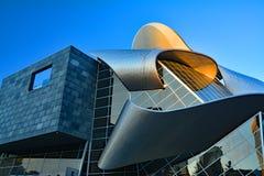 Costruzione moderna di vetro e del metallo Fotografie Stock