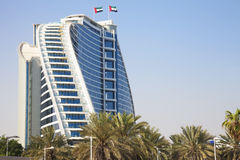 Costruzione moderna, Doubai, UAE immagine stock