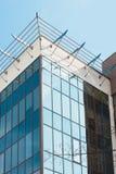 Costruzione moderna e nuova di affari Edificio alto, torre di affari alla città, centro urbano, Mosca, capitale della Russia Immagini Stock