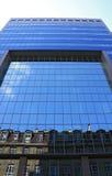 Costruzione moderna e vecchie costruzioni Fotografia Stock Libera da Diritti