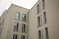 Costruzione moderna in Germania, Monaco di Baviera Fotografia Stock Libera da Diritti