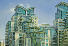 Costruzione moderna a Londra Immagini Stock
