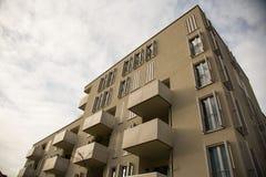 Costruzione moderna a Monaco di Baviera, Germania Immagini Stock