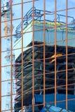 Costruzione moderna nella città urbana Fotografia Stock