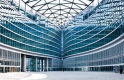 Costruzione moderna: nuovo palazzo Lombardia Milano Fotografie Stock