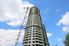 Costruzione Multi-storey in costruzione Fotografia Stock Libera da Diritti