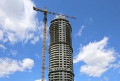 Costruzione Multi-storey in costruzione Fotografia Stock