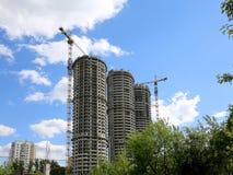 Costruzione Multi-storey in costruzione Fotografie Stock