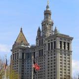 Costruzione municipale di Manhattan - edificio di New York Immagini Stock