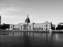 Costruzione municipale a Dublino fotografia stock libera da diritti