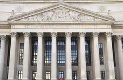 Costruzione nazionale degli archivi Immagine Stock