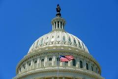 Costruzione nel Washington DC, U.S.A. del Campidoglio degli Stati Uniti Fotografia Stock