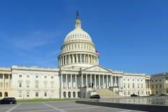 Costruzione nel Washington DC, U.S.A. del Campidoglio degli Stati Uniti Immagine Stock