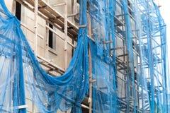 Costruzione nella costruzione Fotografia Stock