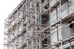 Costruzione nella costruzione Immagini Stock Libere da Diritti