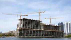 Costruzione nella costruzione Immagine Stock