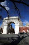 Costruzione a New York Immagini Stock